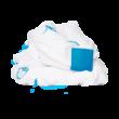 Textilpelenka (3 db csomag) - kék