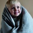 Ágynemű szett (baba) - szürke, muszlin