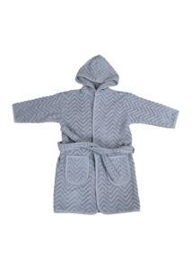Fürdőköntös - kék (3-4 éves méret)