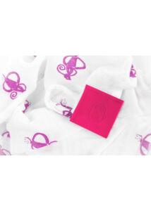 Textilpelenka/pólya (2db/csomag) - pink