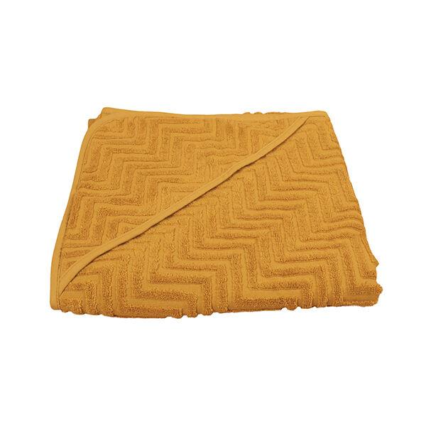 Fürdőlepedő - mustársárga