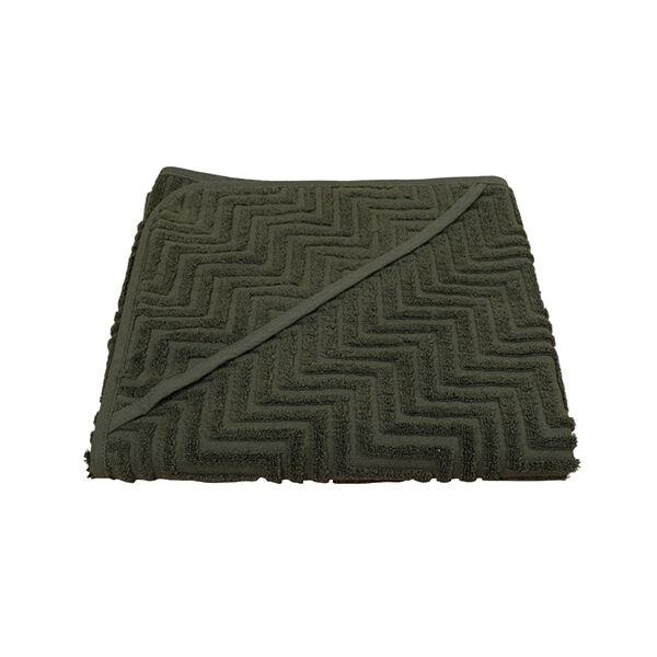 Fürdőlepedő - sötétzöld