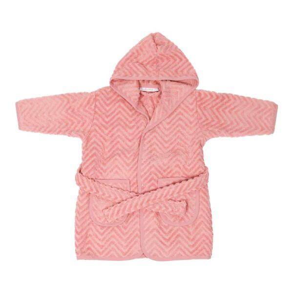 Fürdőköntös - rózsaszín (1-2 éves méret)